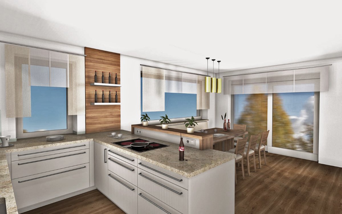k chen b wohnidee. Black Bedroom Furniture Sets. Home Design Ideas