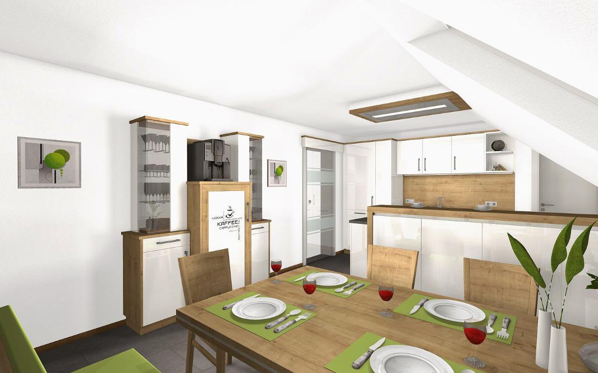 Neue Küche gut geplant B Wohnidee
