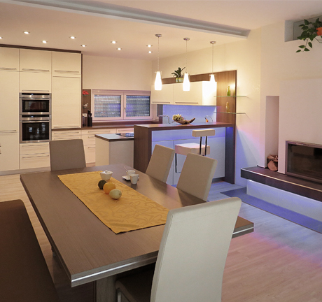 Wohnideen Wohnküche home b wohnidee